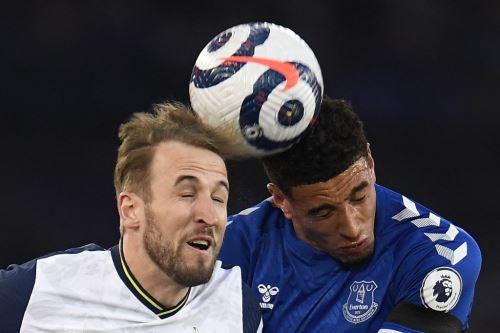 Everton y Tottenham empatan 1-1 por la Premier League