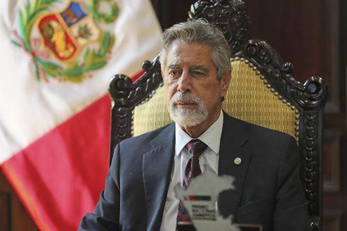Presidente Sagasti lideró ceremonia de reconocimiento a los ganadores del Premio Nacional Ambiental 2020