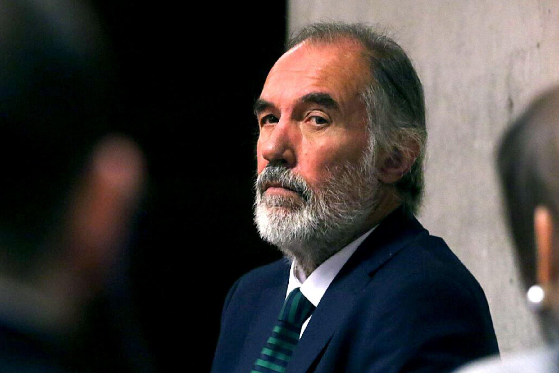 El exsenador fue hallado culpable de recibir dinero el 2013 del entonces gerente de la empresa Corpesca -la mayor pesquera de Chile- a cambio de favorecerla durante la tramitación de una nueva ley de pesca. Foto: AFP.