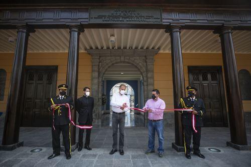 Municipalidad de Lima presenta remodelado Hospicio Bartolomé Manrique