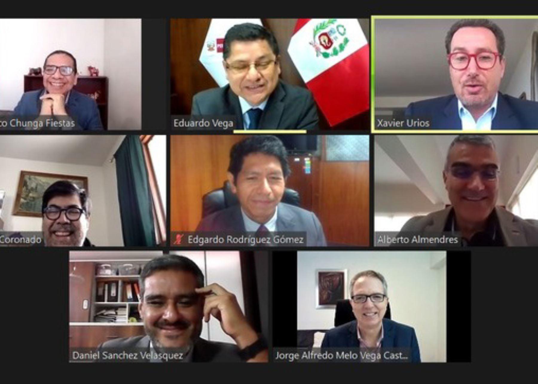 Perú y España fortalecerán alianza para conducta empresarial responsable en derechos humanos.