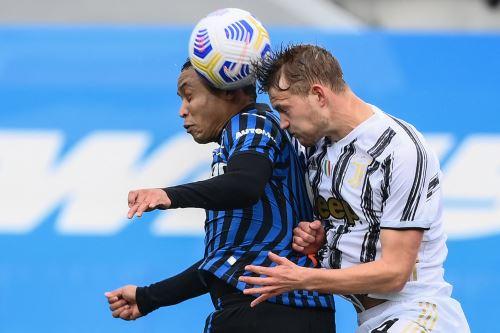 Atalanta gana 1 a 0 a Juventus por la Serie A de la Liga Italiana