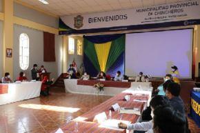 Para elaborar la agenda territorial de Chincheros, el municipio provincial establecerá prioridades, necesidades de asistencia técnica y proyectos, con énfasis en,el  Desarrollo Infantil Temprano e inclusión productiva.