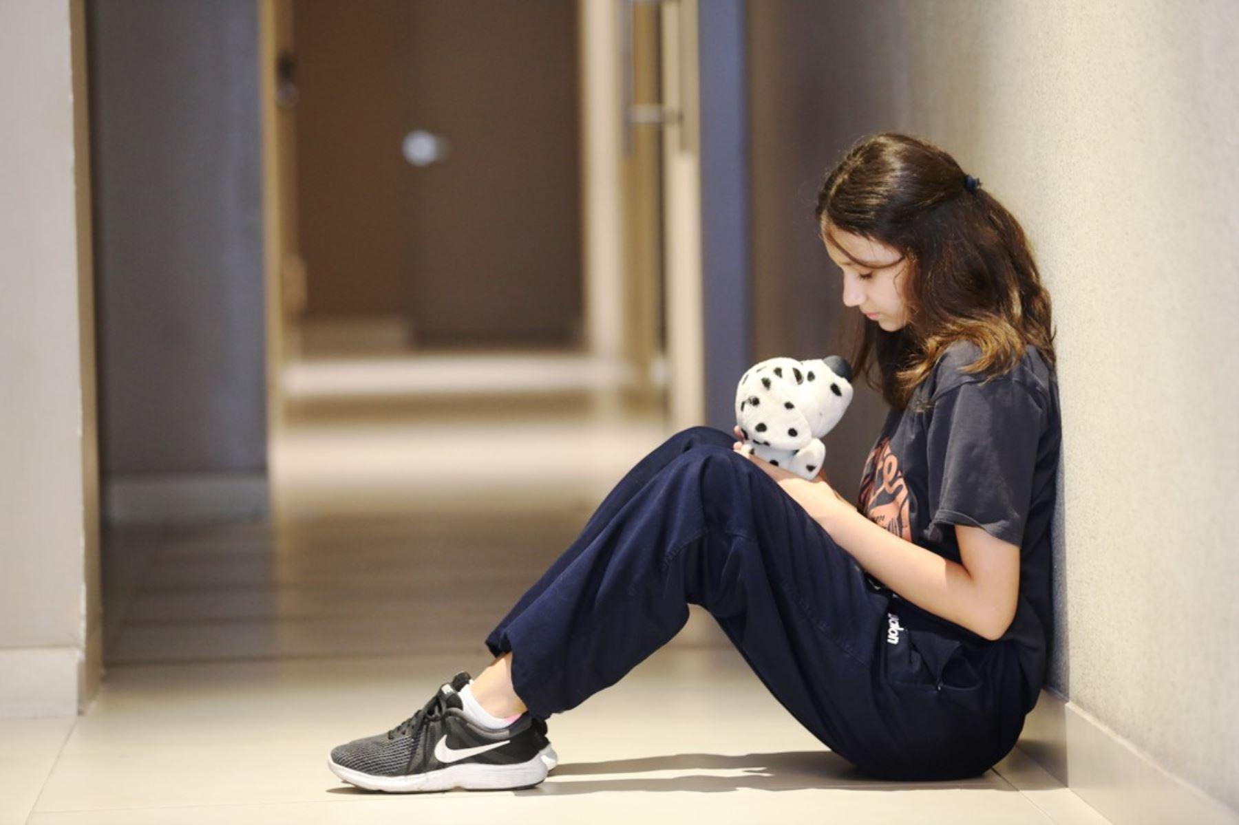 ¡Cuidado! Aumentan casos de menores hospitalizados por depresión . Foto: ANDINA/Difusión.