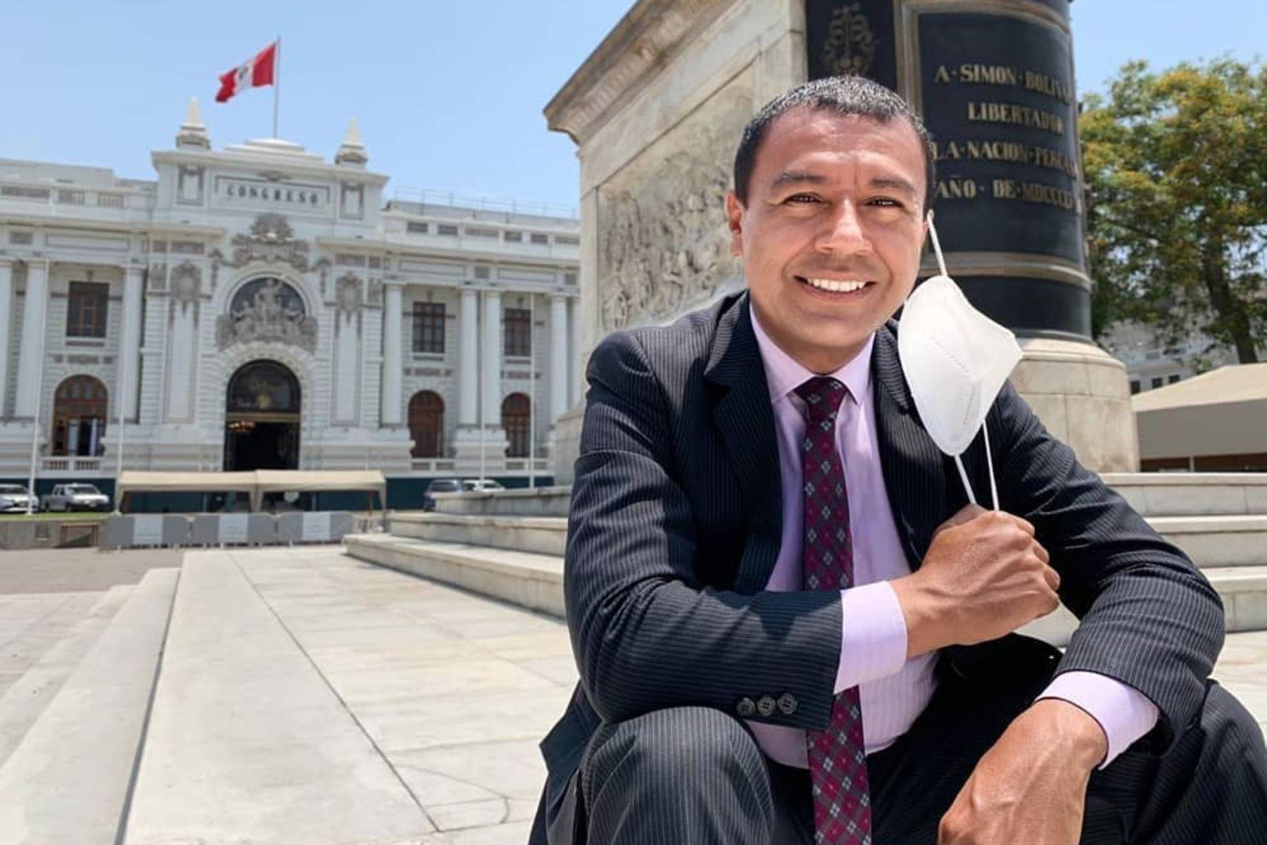 Jimmy Chinchay: Hacen misa por su pronta recuperación. ANDINA/Difusión