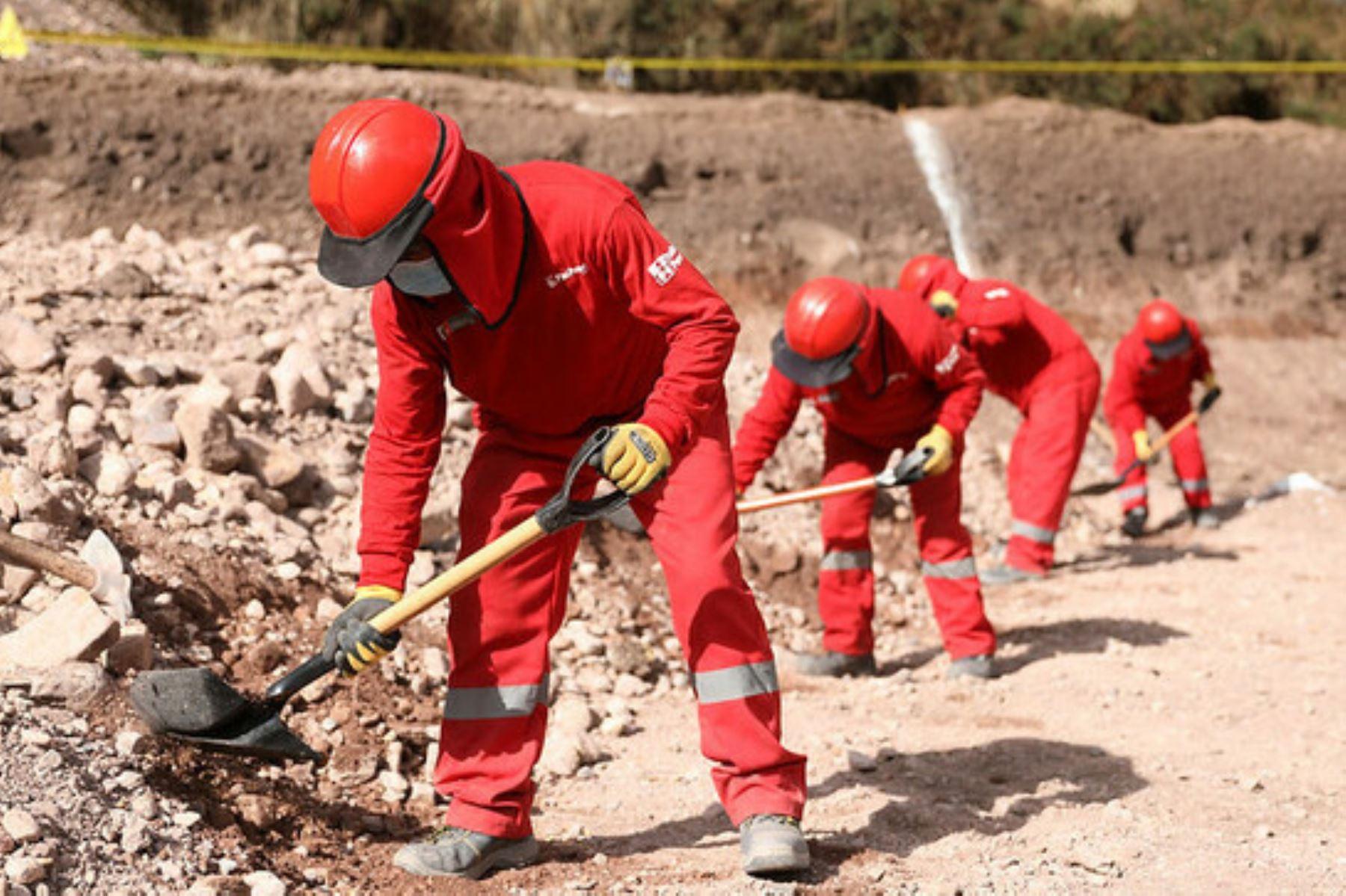 Un total de 699 actividades serán financiadas por Trabaja Perú en la primera etapa de su convocatoria 2021.