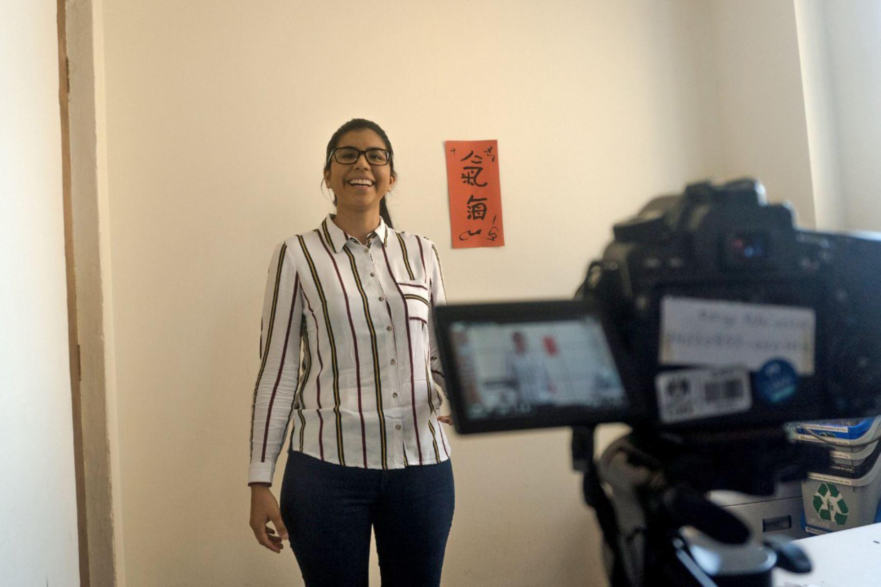 Los participantes deben grabar un video para participar. ANDINA/Difusión