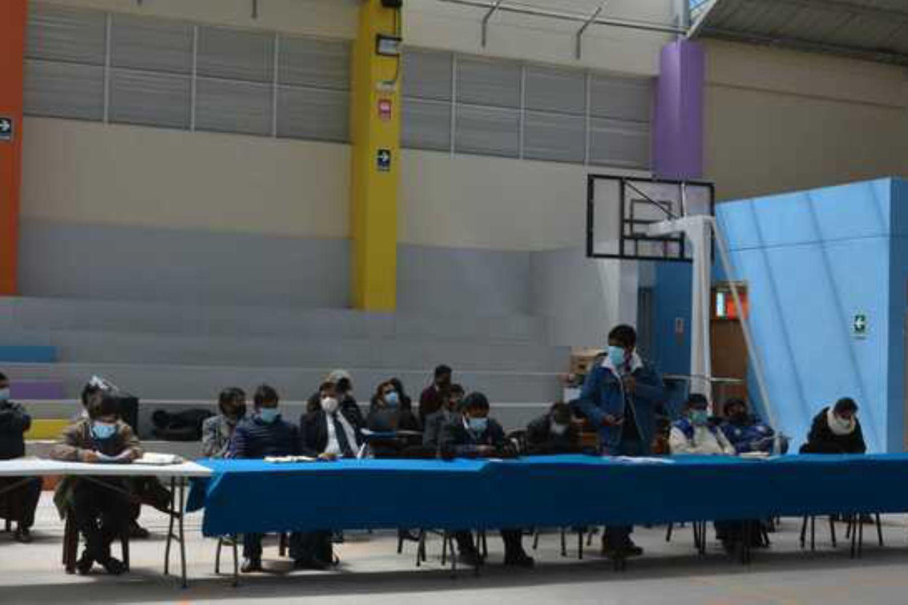 Minem instala mesa de diálogo para impulsar el desarrollo sostenible de Espinar, Cusco. Foto: ANDINA/ Minem