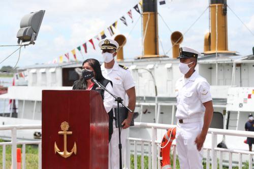"""La Marina de Guerra incorpora a servicio la Plataforma Itinerante de Acción Social """"Río Yavarí"""""""