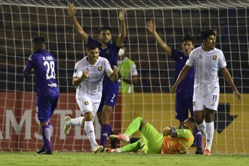 Melgar gana 3 a 2 al Metropolitanos de Venezuela por la Copa Sudamericana