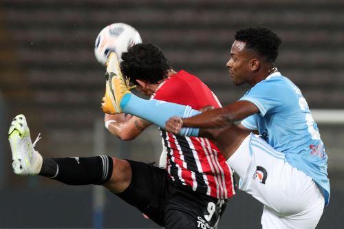 Sporting Cristal pierde 3 a 0 ante Sao Paulo por la Copa Libertadores