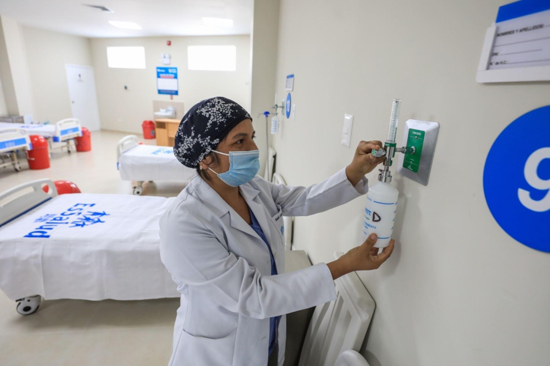 En Lima se implementarán hospitales modulares en tres terrenos saneados de las redes prestacionales Rebagliati y Sabogal donde se habilitarán 280 camas hospitalarias. Foto: ANDINA/Difusión