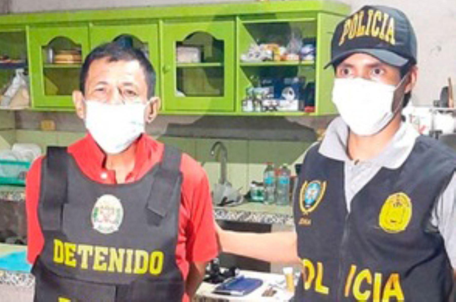 La organización delictiva estaba integrada por exfuncionarios del gobierno regional de Madre de Dios, la Sunat y policías.
