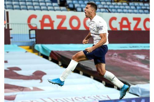 Premier League: Manchester City 2-1 Aston Villa