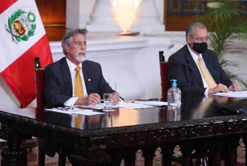 Presidente Sagasti participo en Cumbre Iberoamericana de Jefes de Estado y de Gobierno