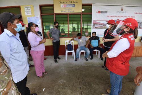 MIDIS: verificó atención de los servicios básicos de Cuna Mas y la emergencia sanitaria, en el Tambo Mario Rivera