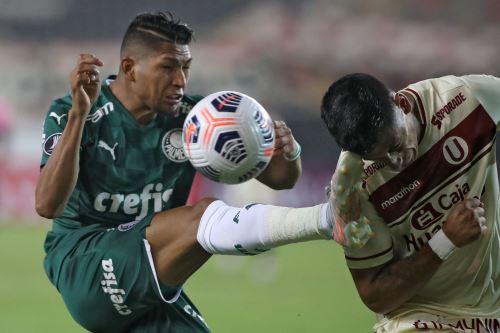 Universitario pierde 3 a 2 ante Palmeiras  por la Copa Libertadores