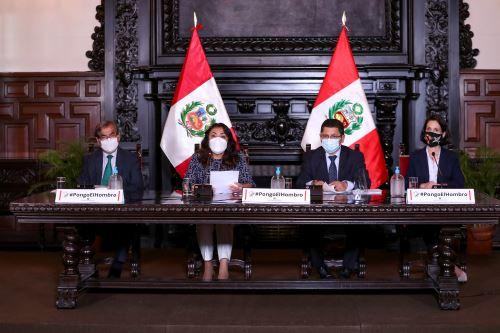 Premier Bermúdez informo sobre acuerdos asumidos en Consejo de Ministros