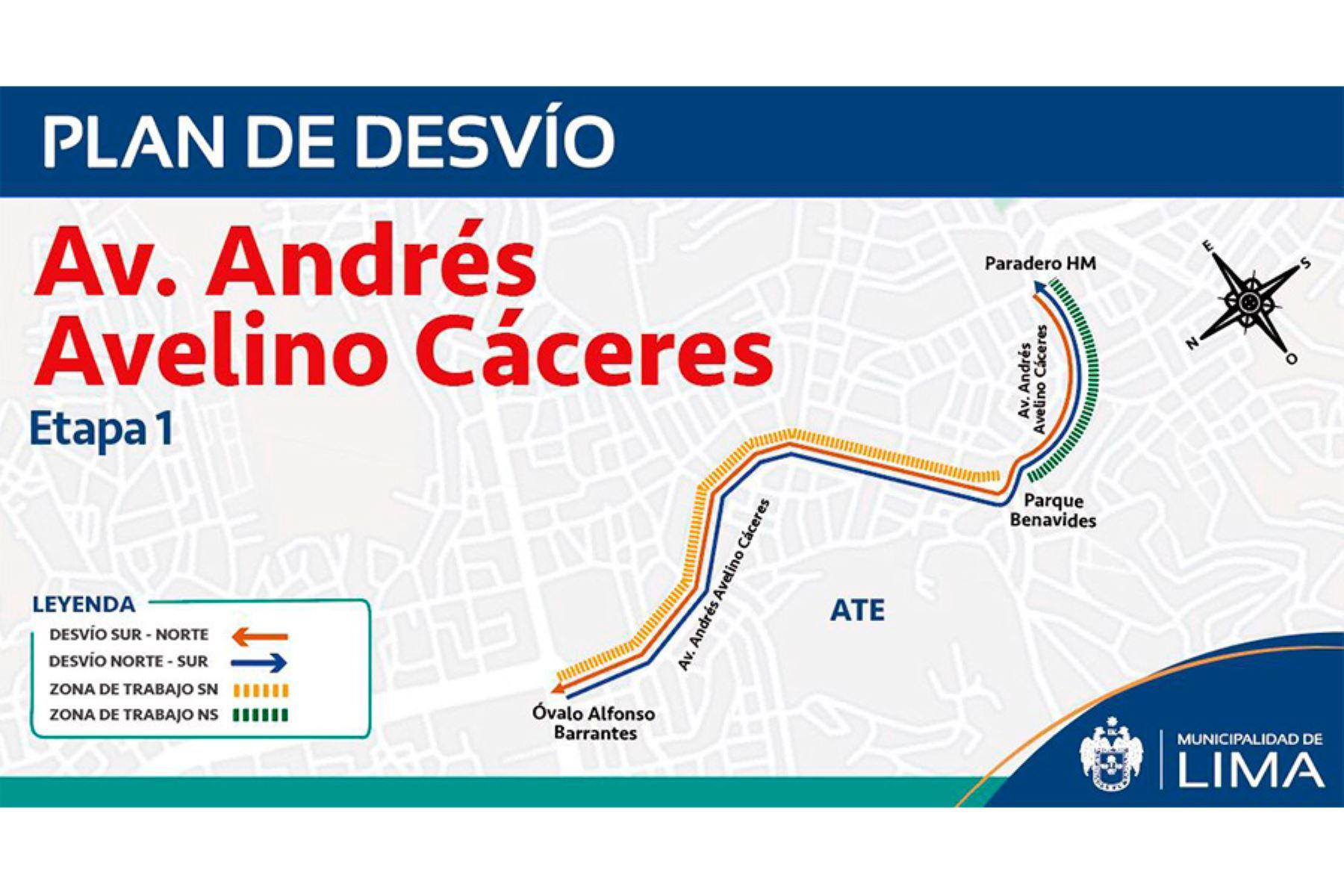 Obra de 1.10 kilómetros de extensión demandará una inversión de S/7.3 millones y beneficiará a más de 22 mil vecinos de Lima este.