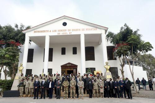 Presidente Sagasti participó en ceremonia por el XXIV aniversario de la Operación Chavín de Huántar