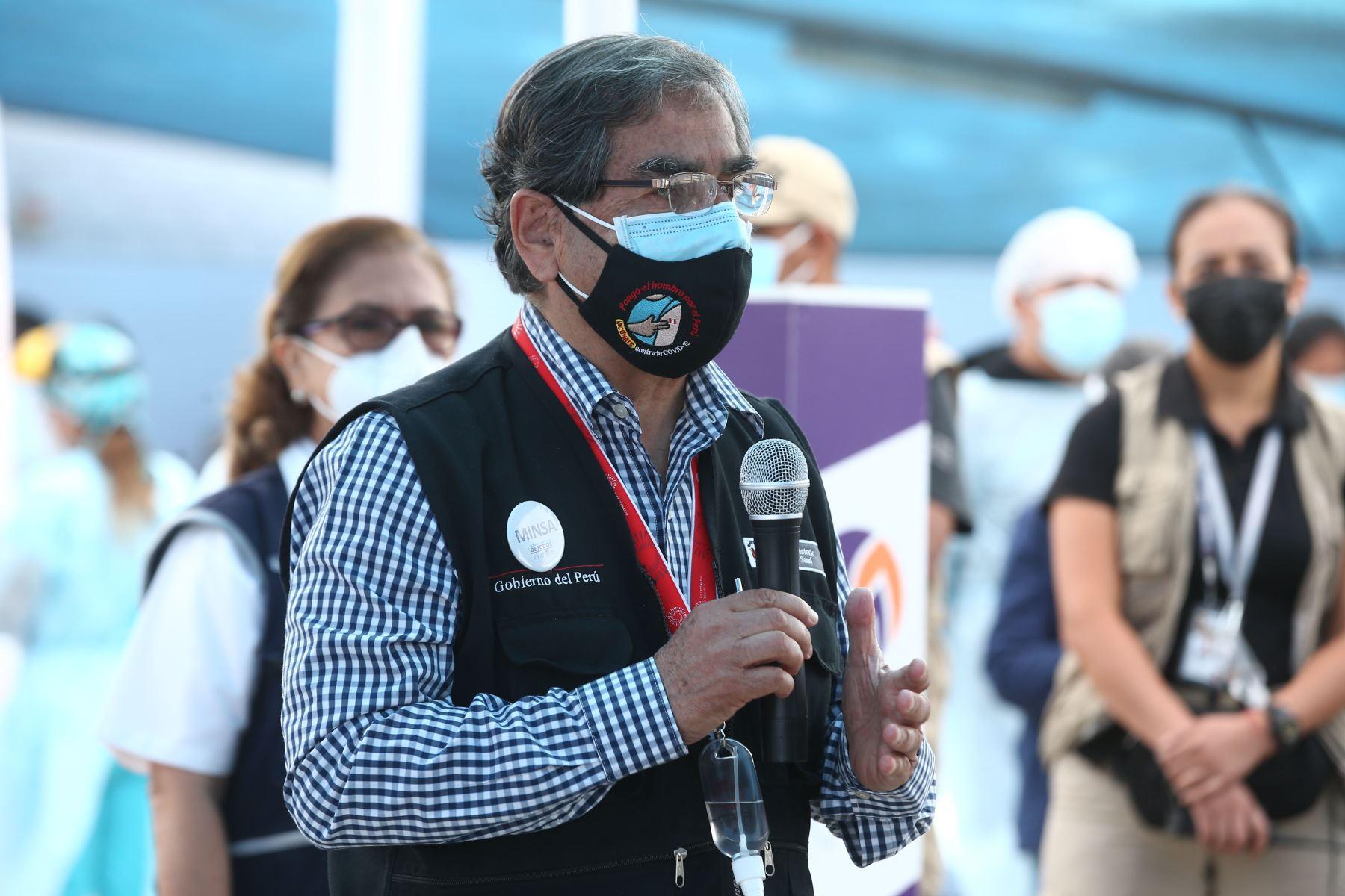 Photo: ANDINA/Ministry of Health of Peru
