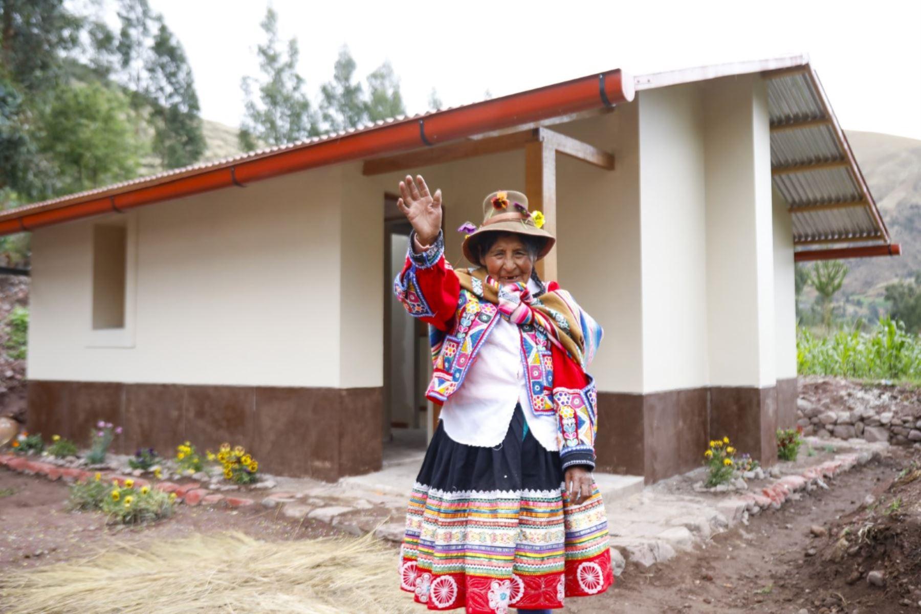 Viviendas en zonas rurales. Foto: ANDINA/Difusión