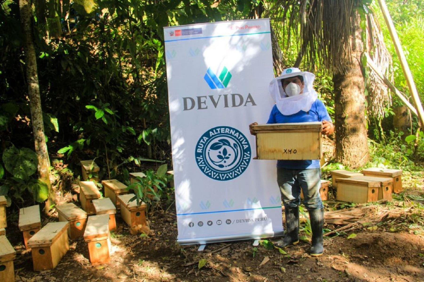 Huánuco: Devida impulsa proyecto de desarrollo alternativo invirtiendo más de 73 millones. Foto: Difusión