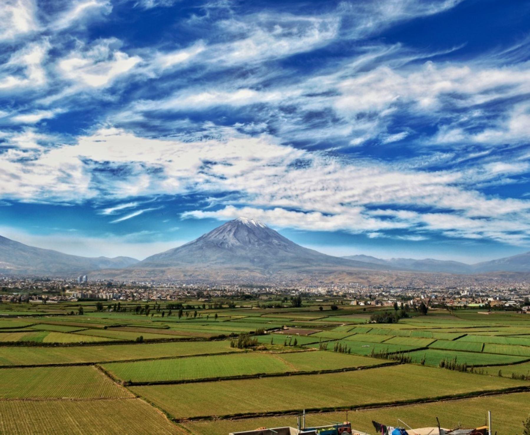 El IGP elaborará un plan de emergencia ante una posible erupción del volcán Misti, en Arequipa. ANDINA/Difusión