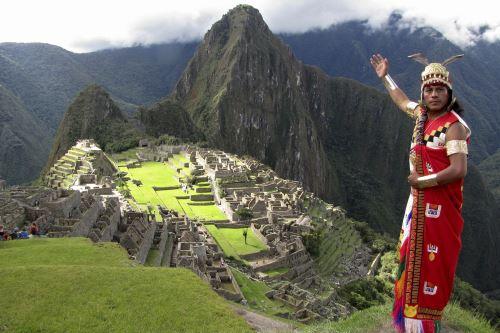 Esta exhibición hace posible que muchas más personas puedan experimentar las maravillas de Machu Picchu en todo el mundo, según dijeron los organizadores. Foto: AFP