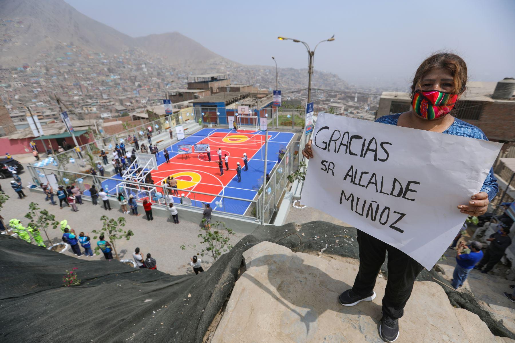 Infraestructuras permiten ampliar los espacios públicos y mejorar la conectividad peatonal en zonas de escasos recursos de Lima norte. Foto: Municipalidad de Lima