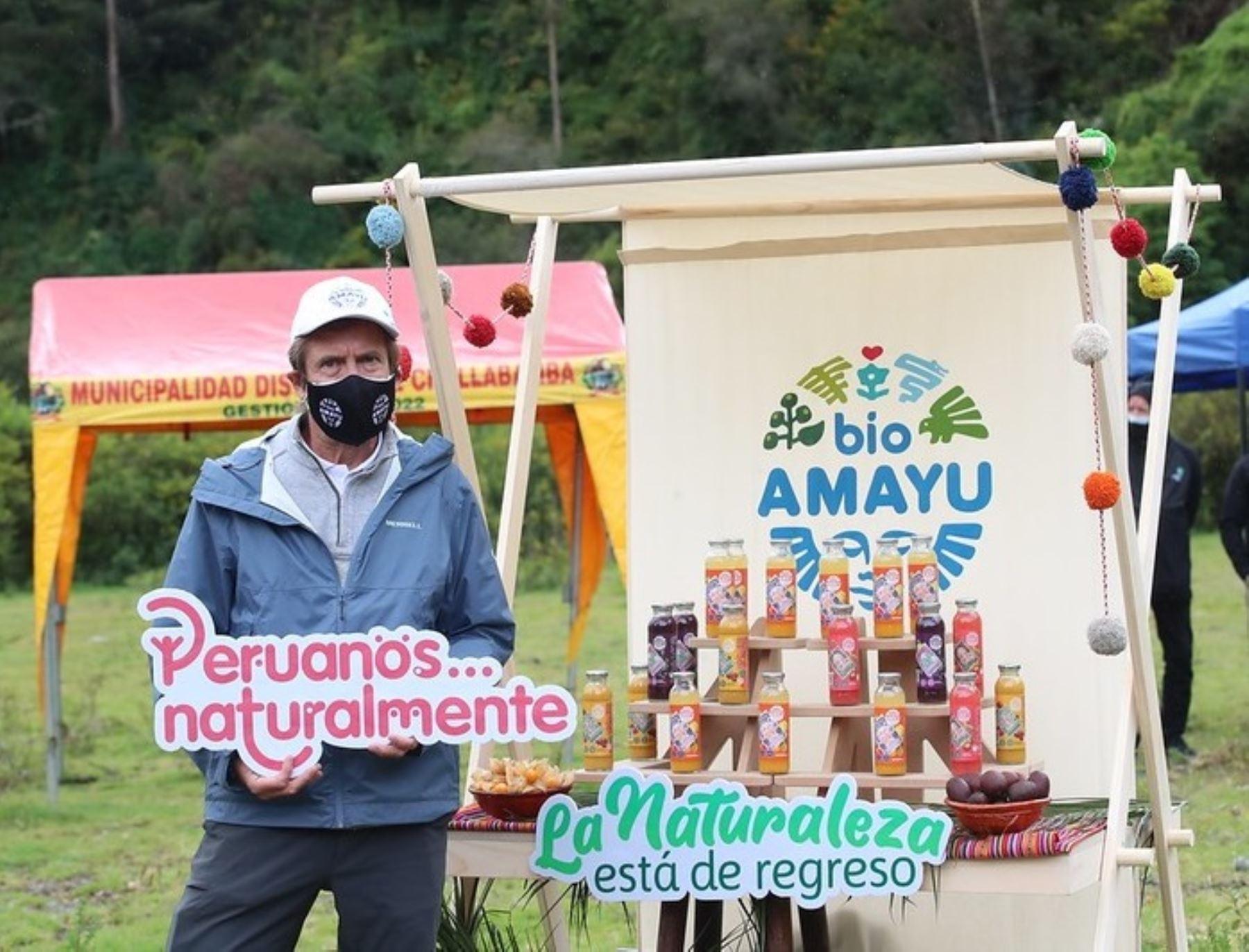 Con la presencia del presidente de la República, Francisco Sagasti, se firmó un acuerdo para impulsar la produccion sostenible de aguaymanto en el Parque Nacional del Manu. en Cusco, informó el Ministerio del Ambiente. ANDINA/Difusión