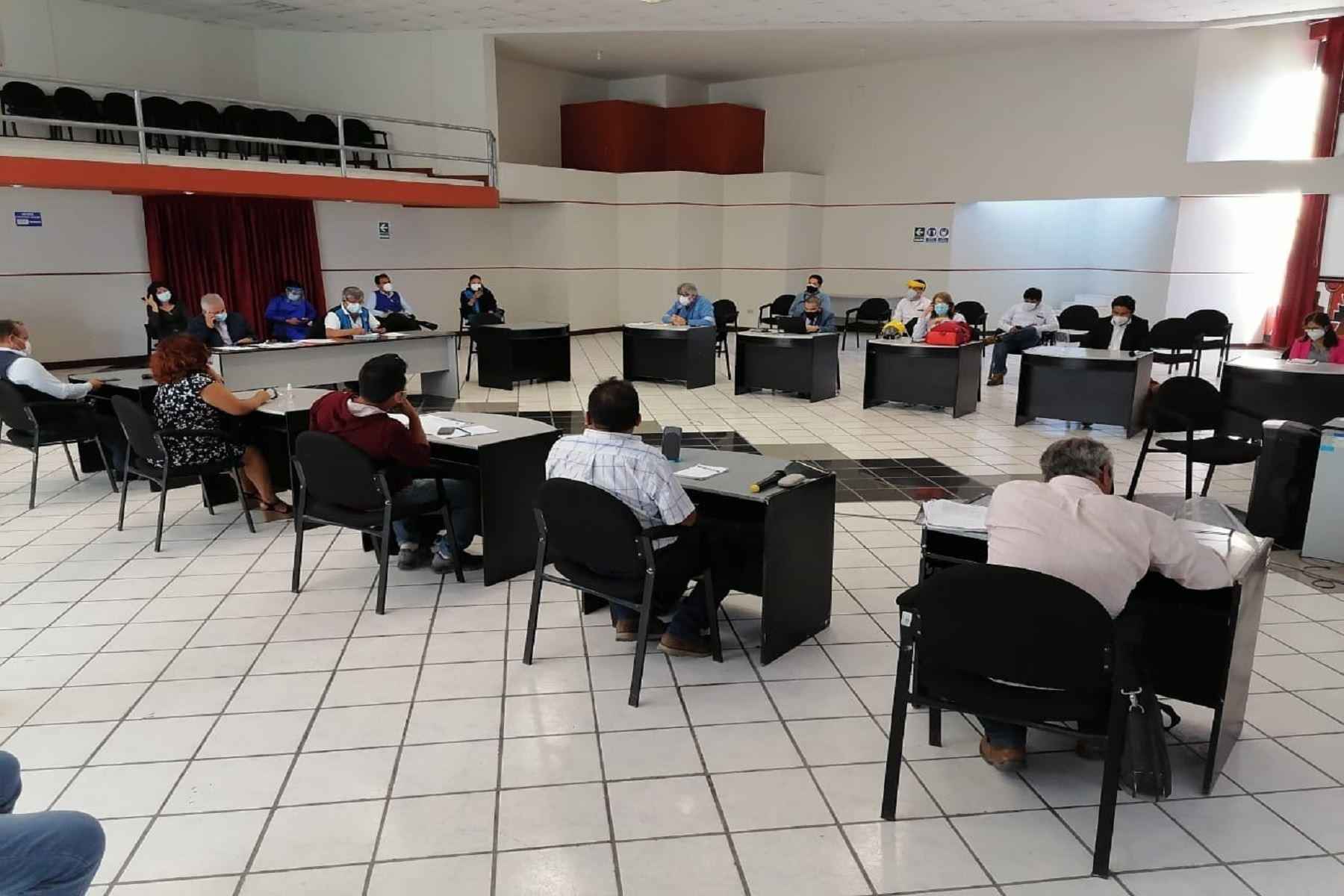 Moquegua: Petroperú realizó primera mesa de diálogo sobre el Nuevo Terminal Ilo. Foto: Difusión