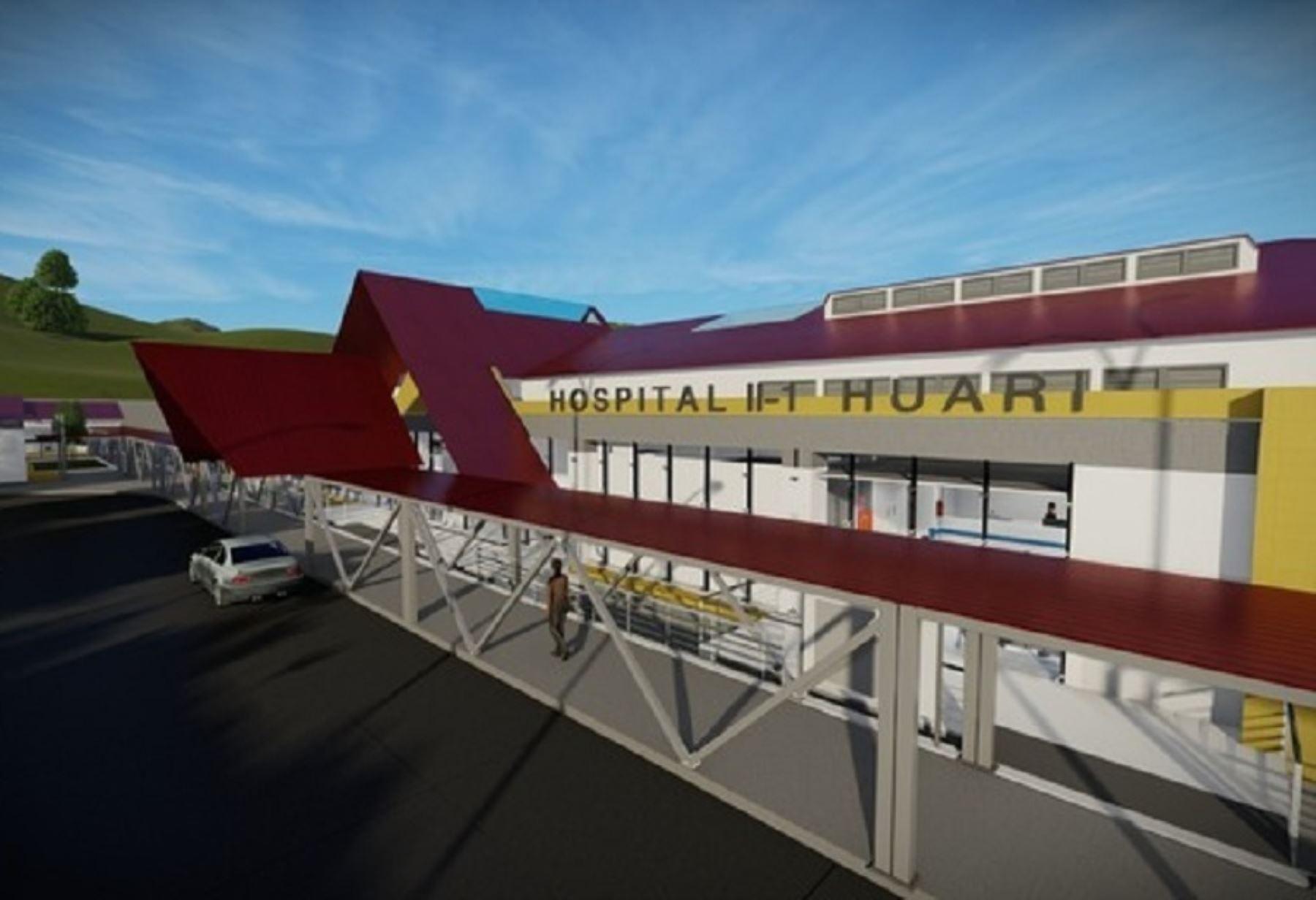 El Ministerio de Salud (Minsa), a través del Programa Nacional de Inversiones en Salud (Pronis), aprobó el expediente técnico que permitirá iniciar la construcción del nuevo Hospital de Huari, situado en el distrito y provincia del mismo nombre, en la región Áncash.