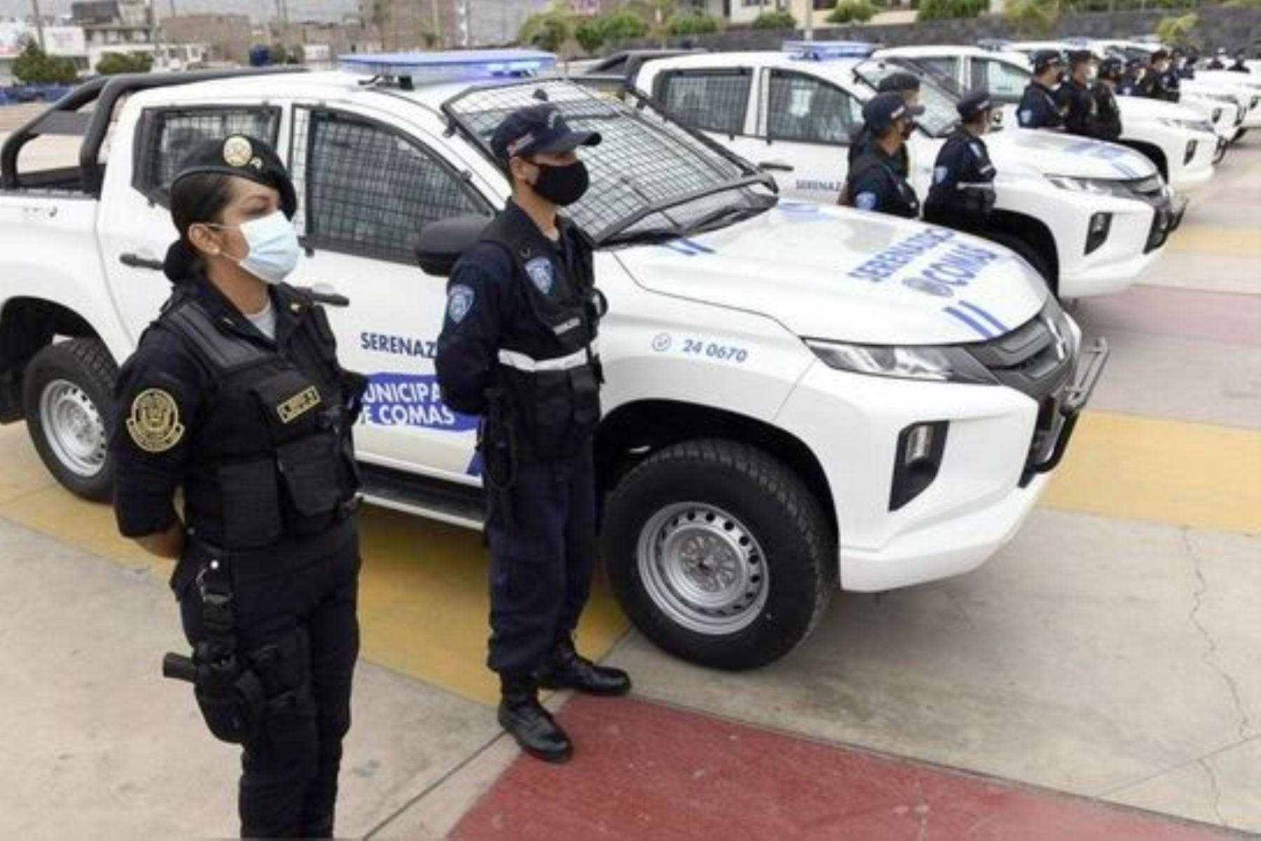 Mininter fortalece planificación de 364 comités de seguridad ciudadana que incluye al patrullaje integrado de serenazgo y Policía Nacional. Foto: ANDINA/Difusión.