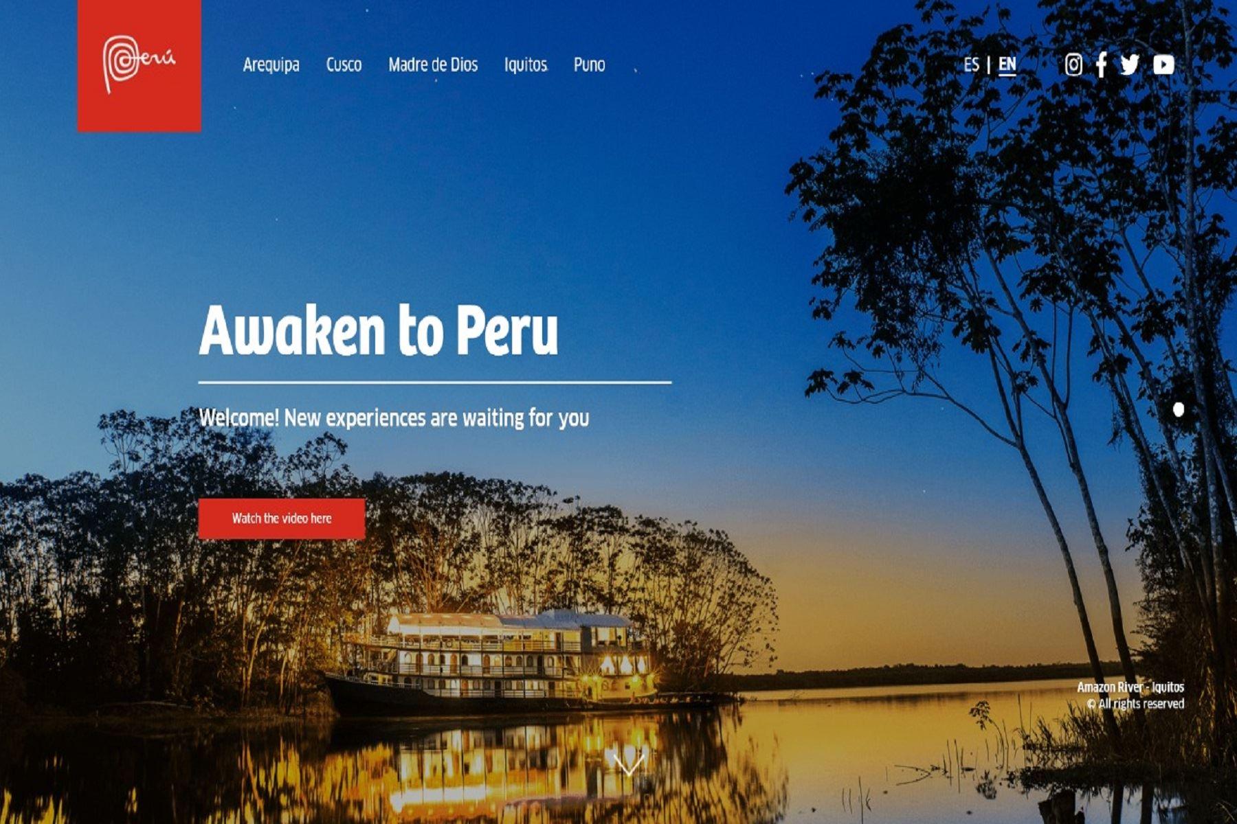 Campaña turística de Promperú. Cortesía Promperú