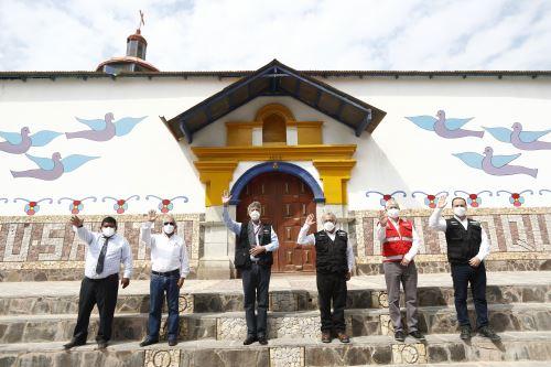 Presidente Francisco Sagasti supervisa proyecto de banda ancha en la región Lima