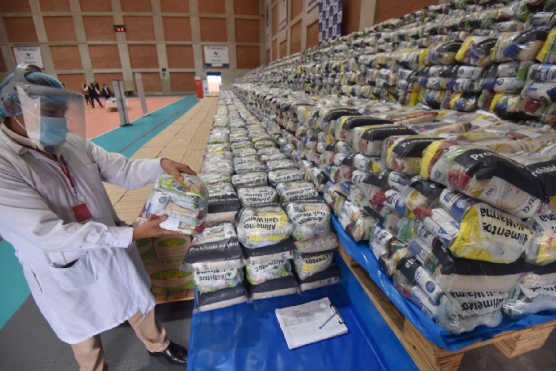 Qali Warma está facultado a brindar apoyo alimentario a poblaciones vulnerables en la emergencia sanitaria, de forma extraordinaria. Foto: ANDINA/Midis