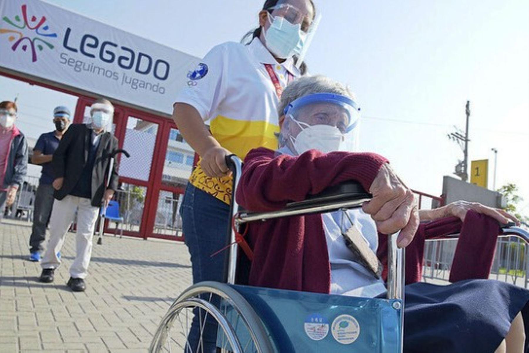 Abren convocatoria a voluntarios de los Juegos Panamericanos para proceso de vacunación. Foto: ANDINA/Difusión.