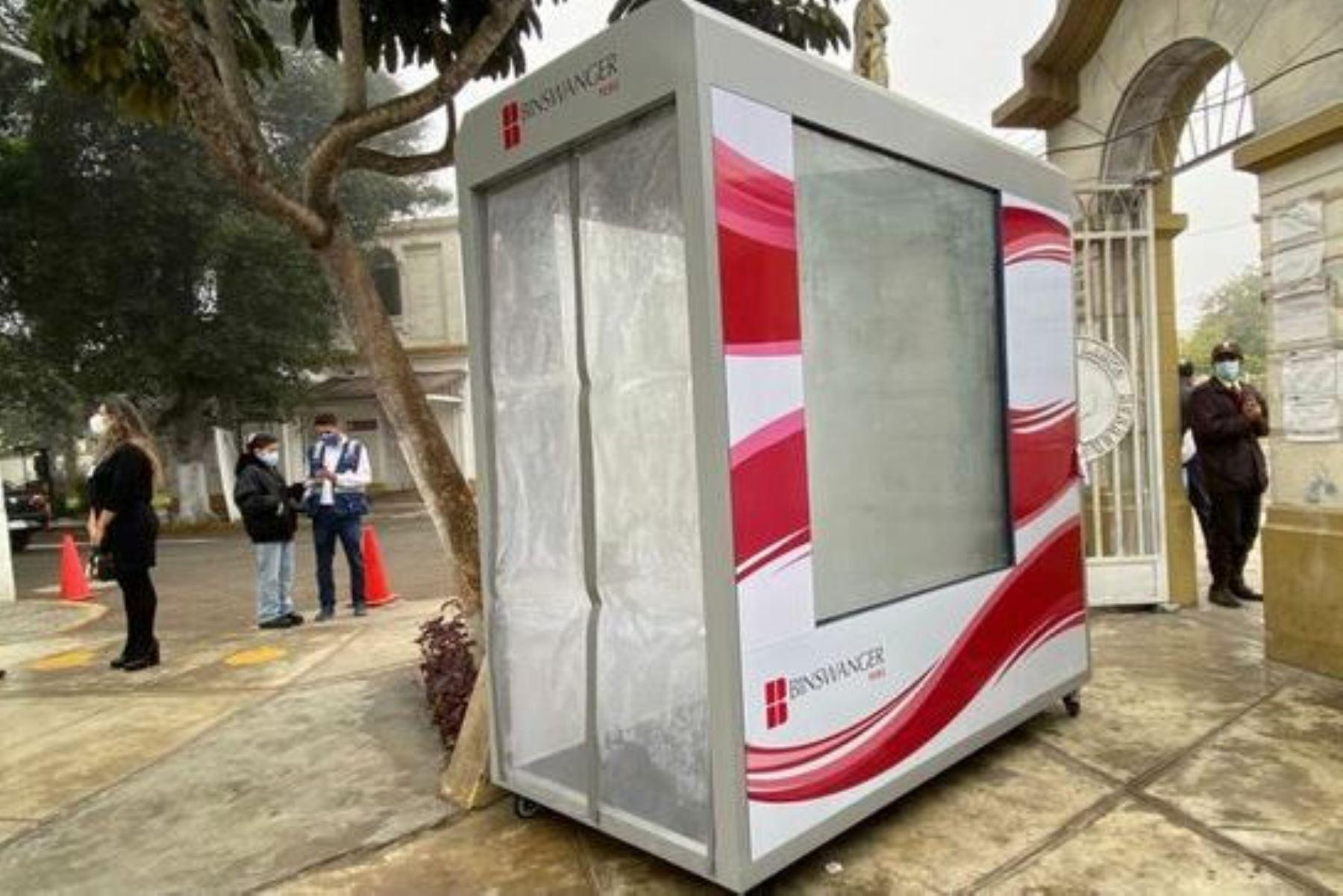 Hospital Larco Herrera instala la más moderna tecnología de bioseguridad. Foto: ANDINA/difusión.