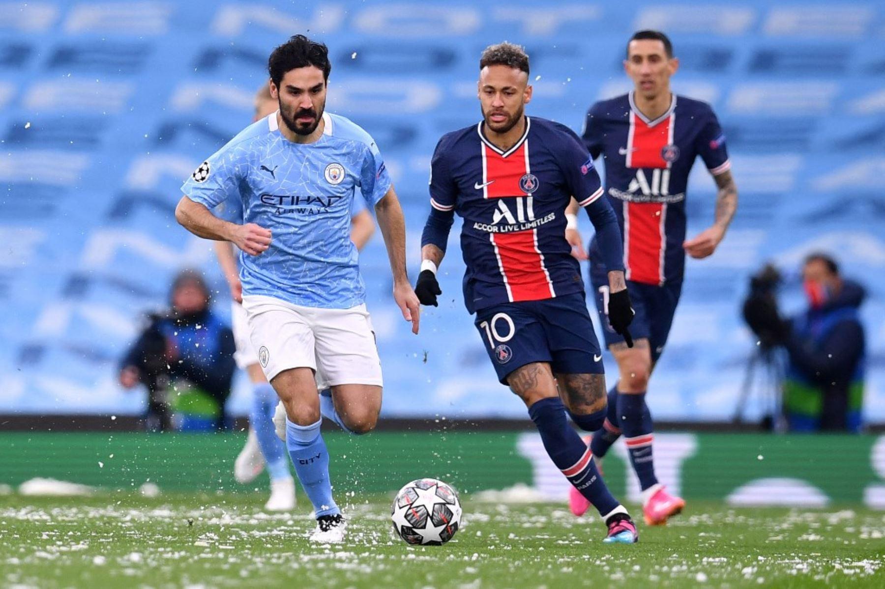 Manchester City juega con el PSG la segunda semifinal de la Liga de Campeones en el Etihad Stadium