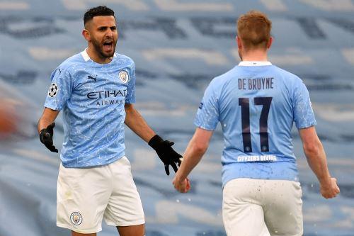 Manchester City vence 2-0 a PSG y pasa a la final de la UEFA Champions League