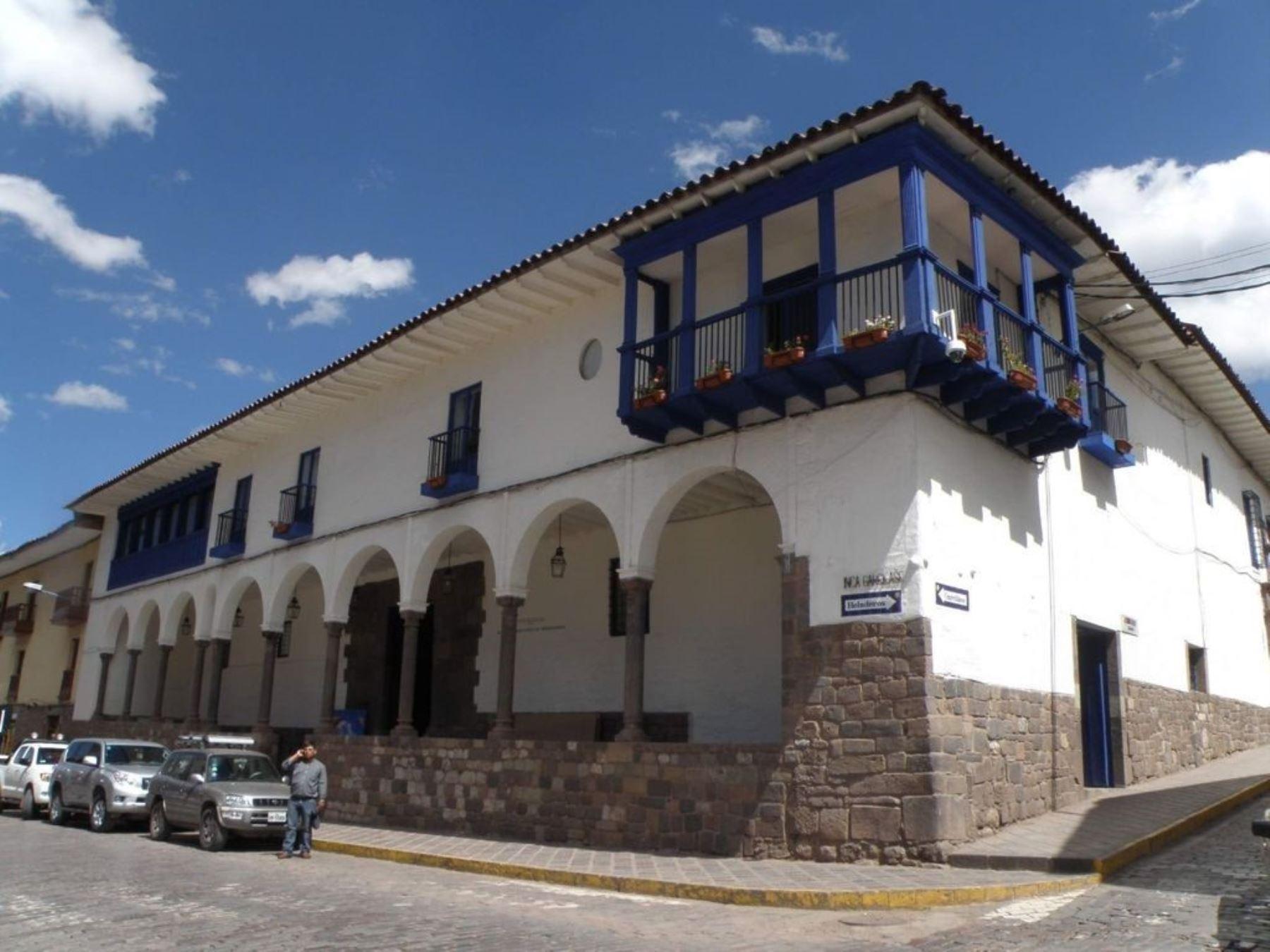 La casa de Garcilaso de la Vega, actual Museo Histórico Regional de Cusco, será el primer monumento que lucirá el Escudo Azul de la Unesco en el Perú.