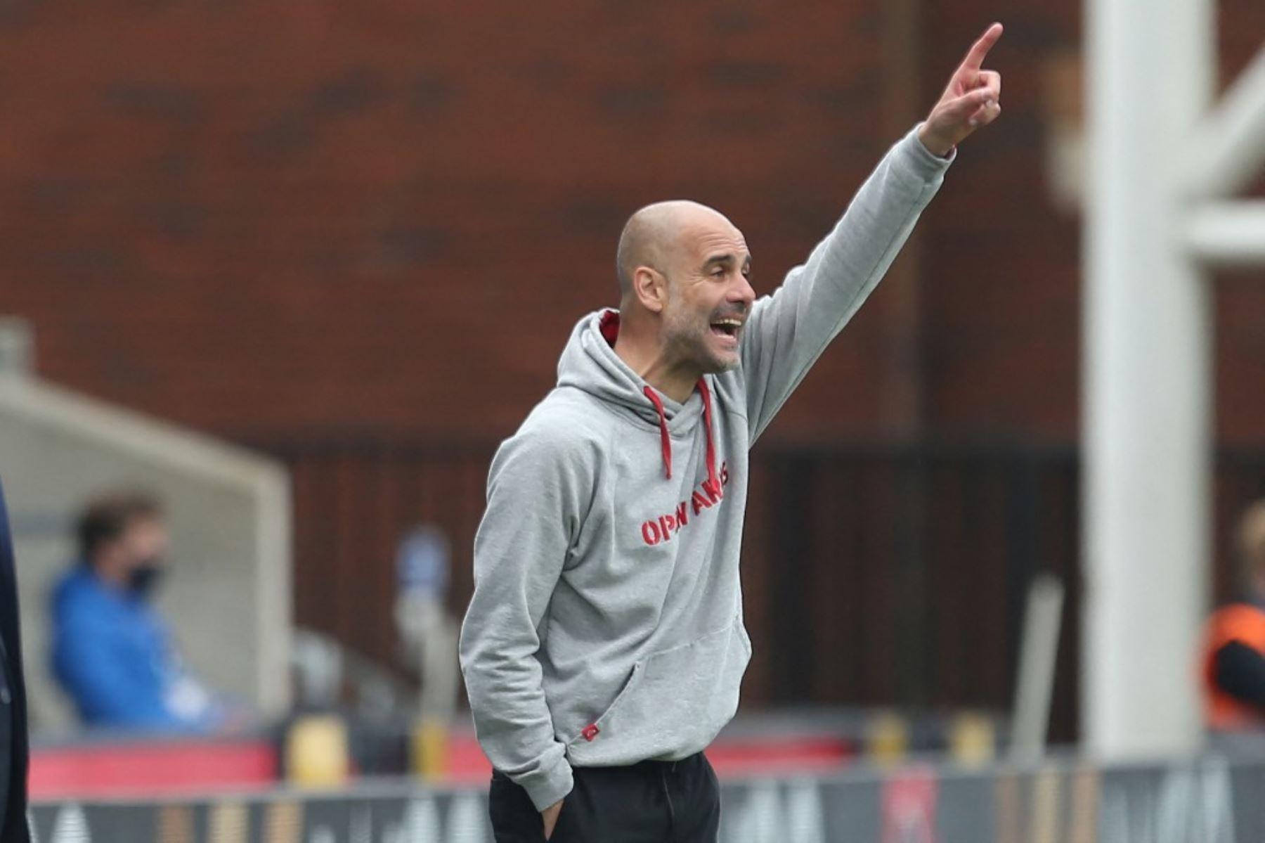 Guardiola jugará su segunda final de la Liga de Campeones.