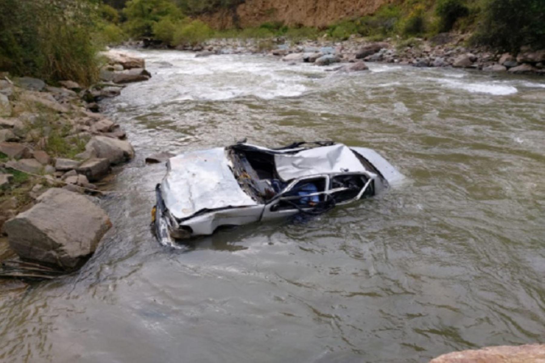 El accidente de tránsito se produjo alrededor de las 07:00 horas de hoy en la carretera Central.