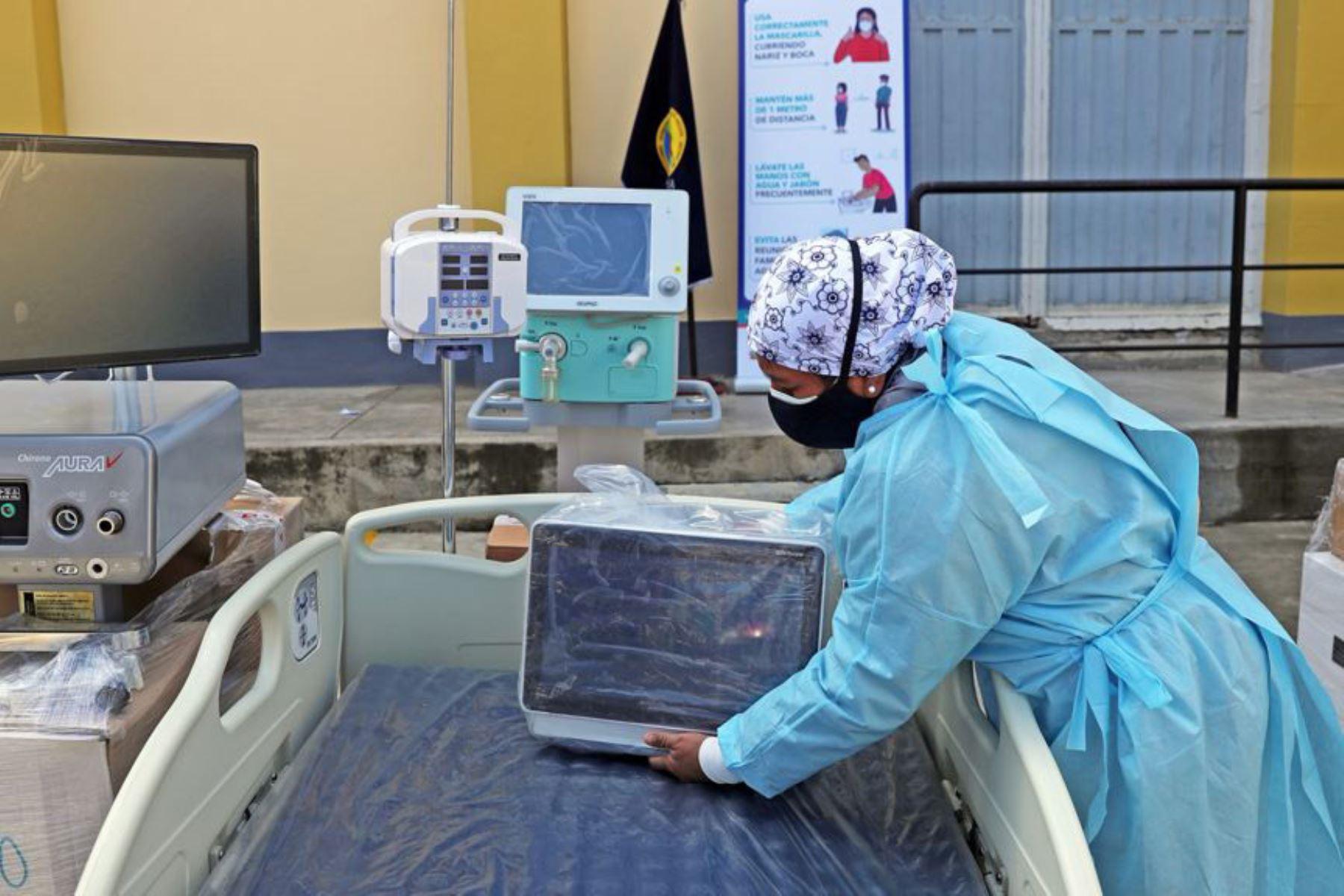 La región Áncash cuenta con más equipos para optimizar las unidades de cuidados intensivos. Foto: ANDINA/Minsa