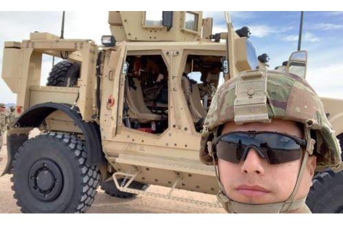 Jeancarlos Herrera, el peruano veterano de guerra en Irak.
