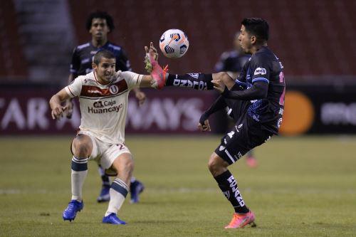 Universitario pierde 4 a 0 ante Independiente del Valle por la Copa Libertdaores
