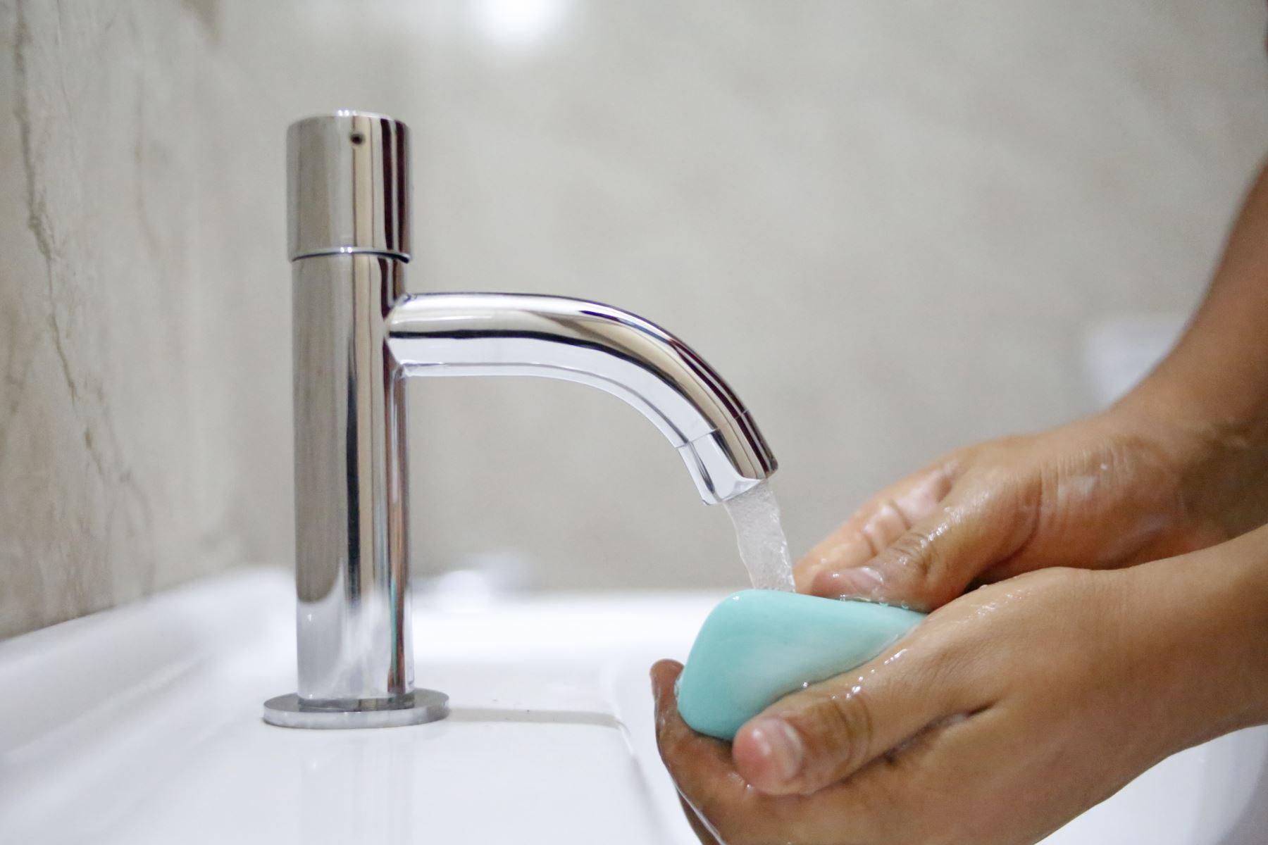 El Día Nacional de la Higiene de Manos fue establecido el año pasado por el Ministerio de Salud. Foto: ANDINA/Renato Pajuelo