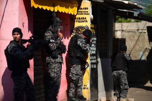 Brasil: al menos 25 muertos en operación antidroga en favela de Río de Janeiro