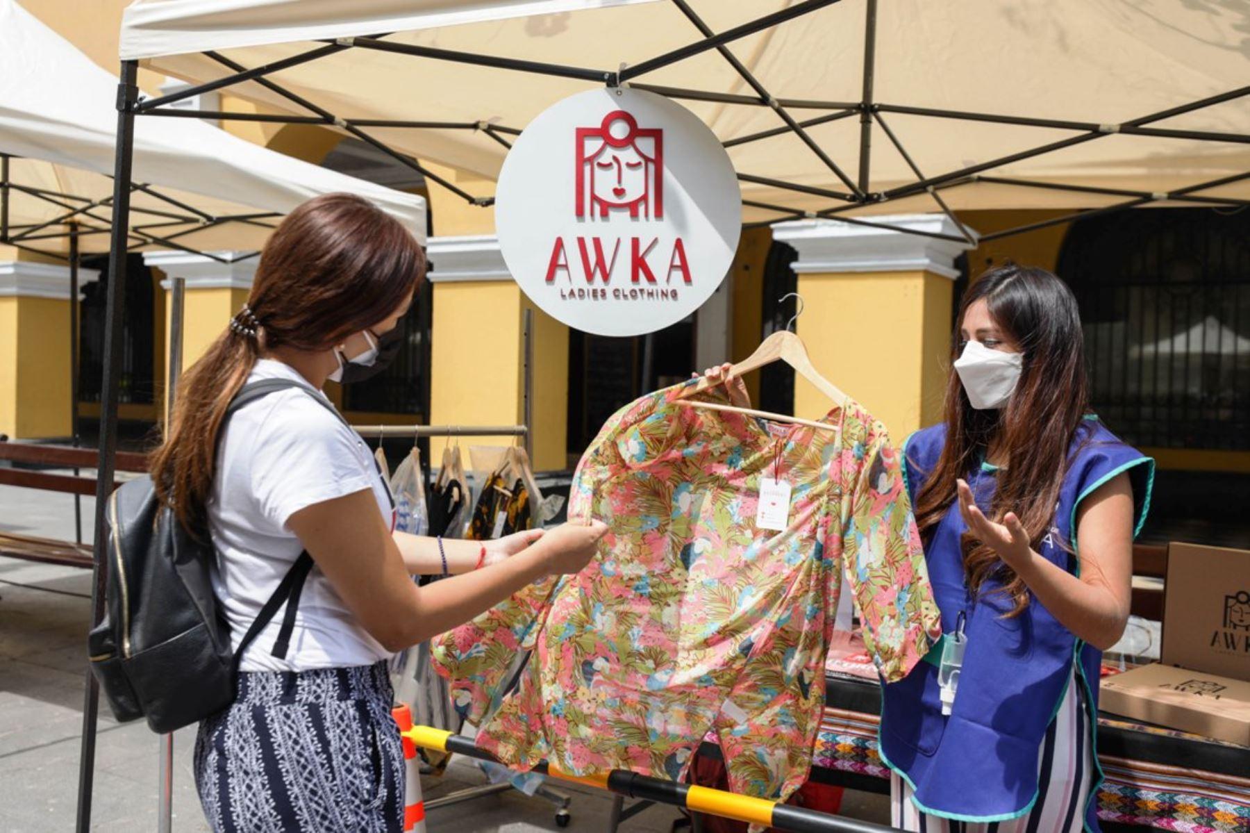 Día de la Madre: encuentra el regalo perfecto en Feria Emprendedores. Foto: ANDINA/Difusión.